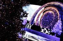 Новогодние декорации («Газпром»)