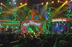 Декорации для сцены «Эхх, Разгуляй!»- 2010