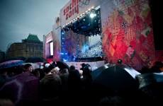 декорации для сцены Красная площадь