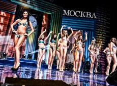 декорации для конкурса красоты «Мисс Москва — 2012»