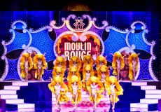 Декорации для сцены кабаре «Moulin Rouge»