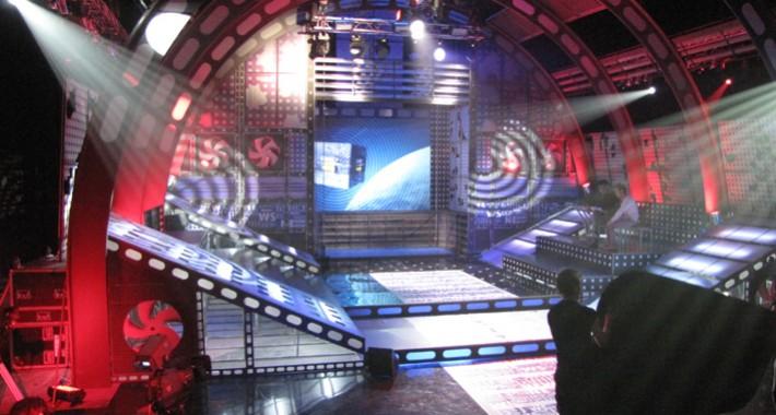 Телевизионные декорации для Рен ТВ (Бункер News)