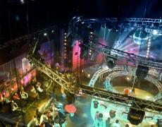 изготовление подиума для съемок «Танцы без правил»