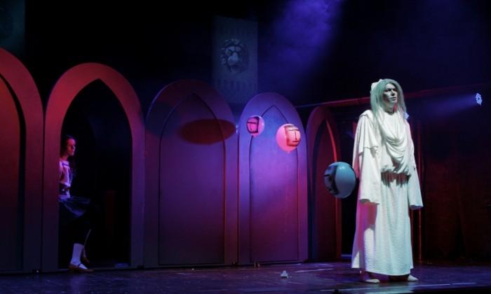 Декорации к спектаклю «Кентервильское привидение»