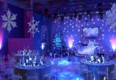 Оформление помещения к Новому году, ОАО 'Медицина'