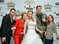 Пресс волл на свадьбу