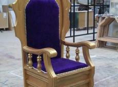 изготовление трона