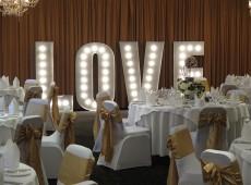 объемные буквы на свадьбу LOVE