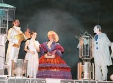 Декорации к детскому спектаклю «Незнайка»
