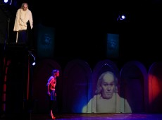 Изготовление декораций для спектакля «Кентервильское привидение»