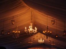 Декорирование шатра на свадьбу