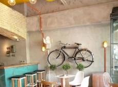 Оформление кафе в индустриальном стиле