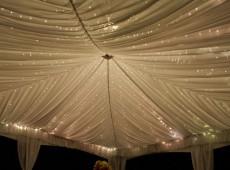 Свадебное оформление шатра