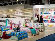 Оформление выставки текстиля