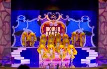 Декорации для сцены «Moulin Rouge» Crocus City Hall