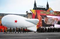 Оформление сцены на Красной площади, 7.10.2015