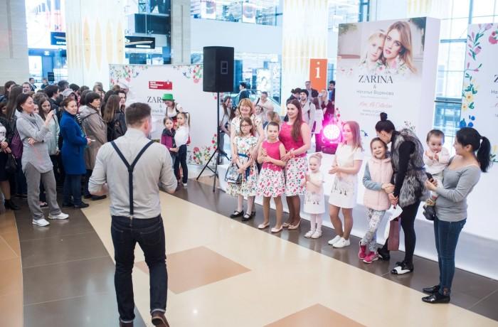 Оформление мероприятия для Zarina&Наталья Водянова (3)