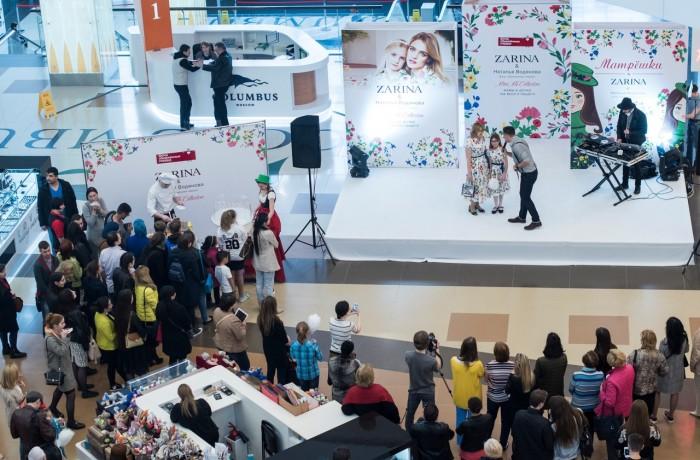 Оформление мероприятия для Zarina&Наталья Водянова (5)