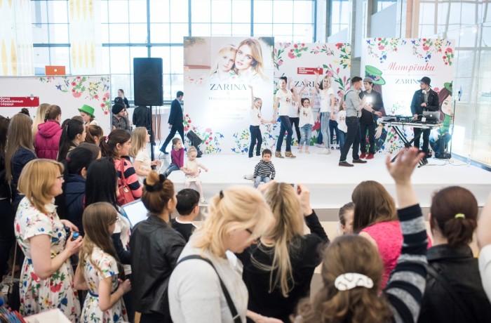 Оформление мероприятия для Zarina&Наталья Водянова