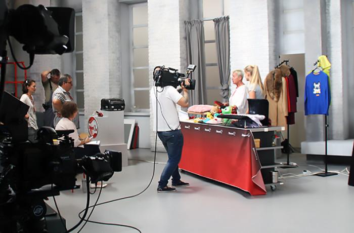 изготовление телевизионной студии