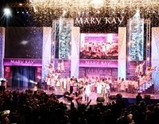 Декорации для сцены Mary Kay  (СК «Олимпийский»)